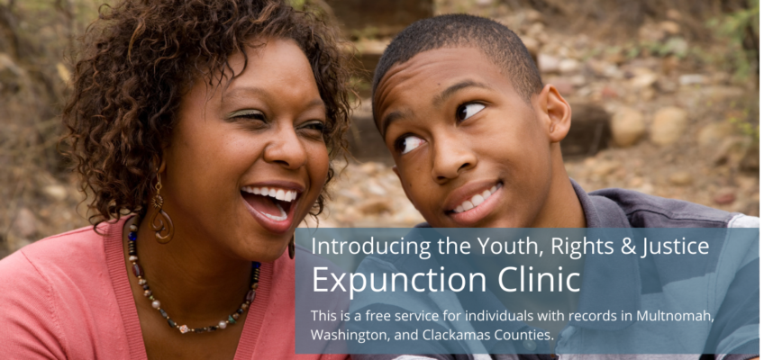 Announcing the Youth, Rights & Justice Expunction Clinic